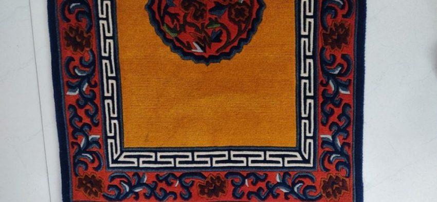 tibetan mandala runner mat deco