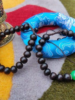 Black Wooden Bracelets
