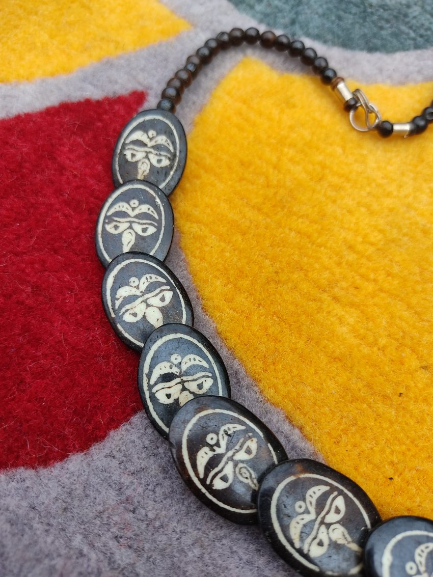 tibetan Buddha eyes locket