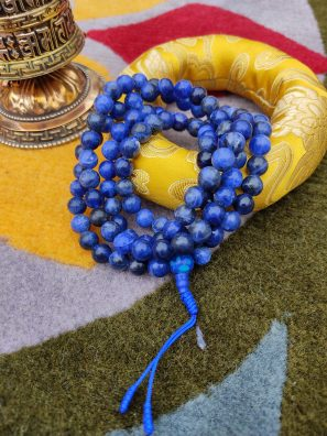 Lapis Prayer Mala