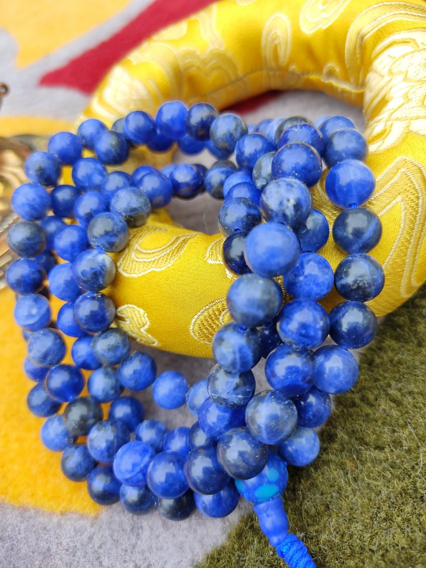 Lapis Prayer Mala Meditation