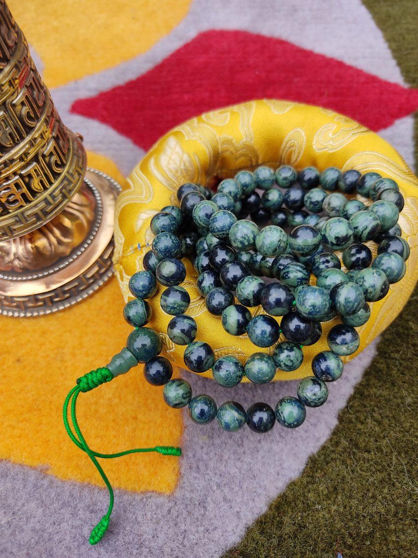Malachite Prayer Mala
