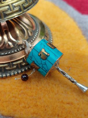 Newari Prayer wheel charm Pendant