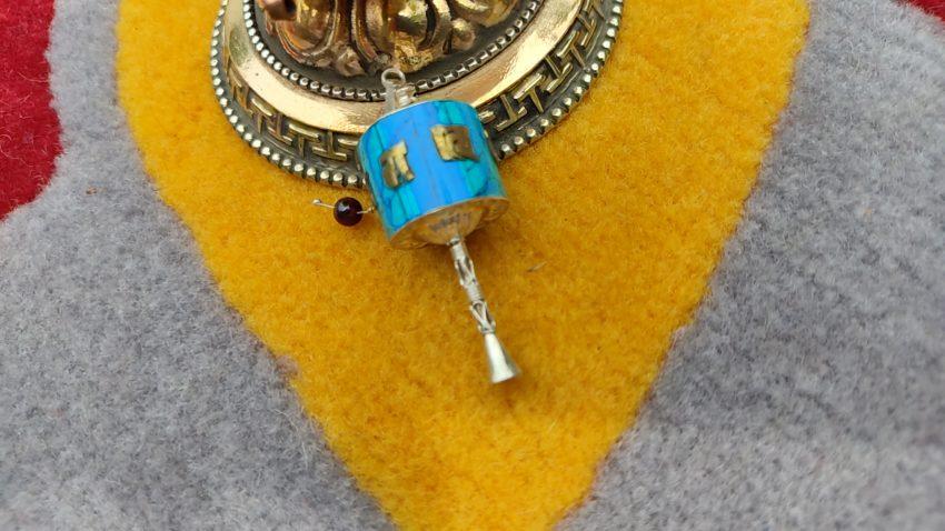 Newari Prayer wheel charm gifts