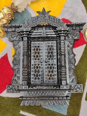 Newari Wooden Door Decor-