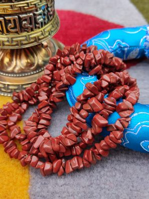 Red Stone jap mala Gifts