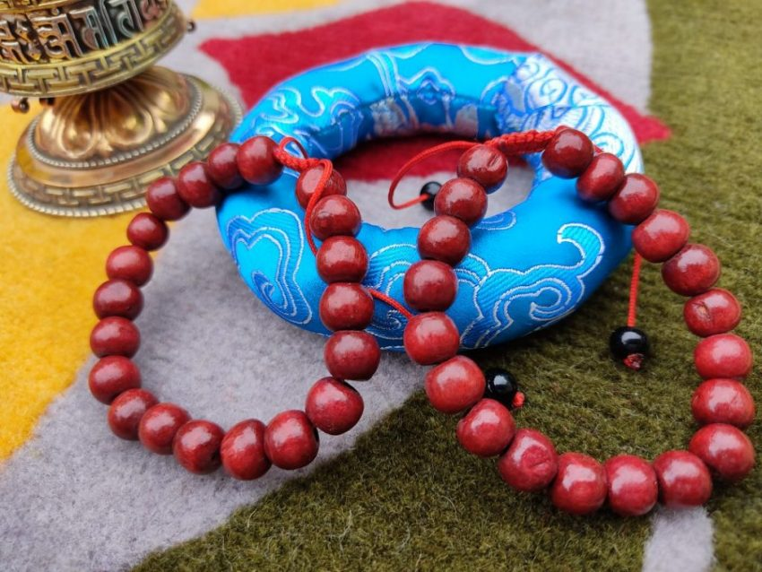 Red Wooden Bracelet Gifts