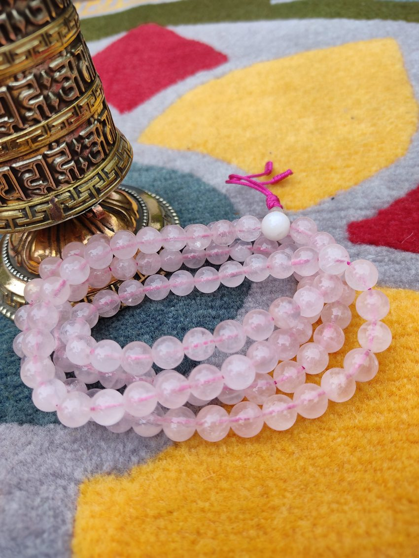 Rose Quartz Prayer Mala gifts