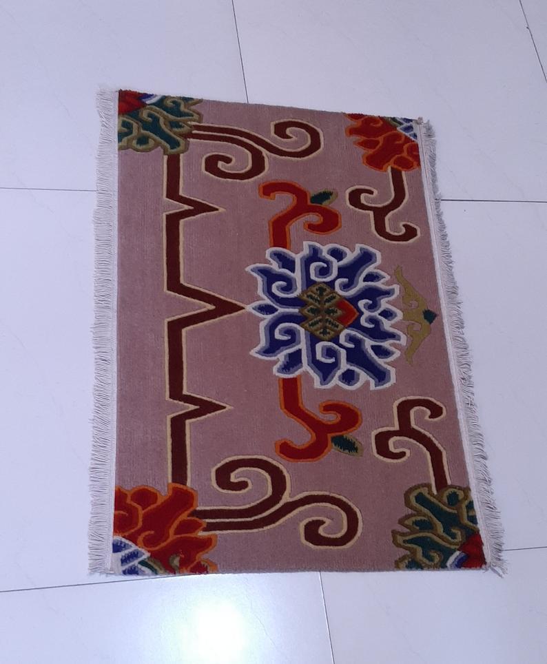 Tibetan Meditation Lotus Mat