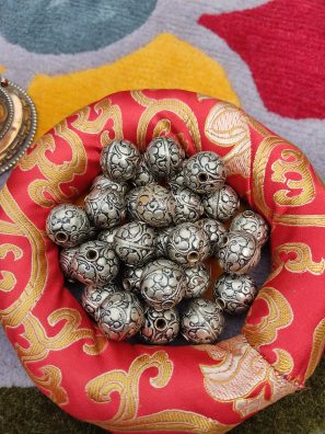 Tibetan Silver beads