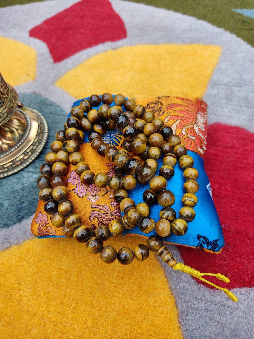 Tiger Eye Prayer Mala gifts