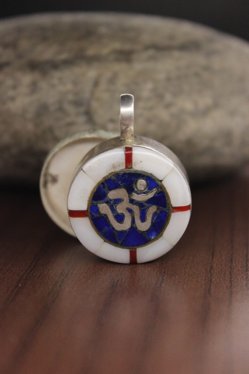 Buddhist Om charm