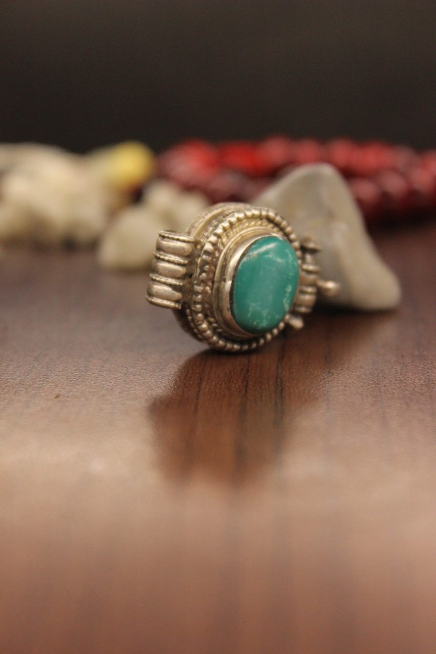 Turquoise Pendant Prayer Box