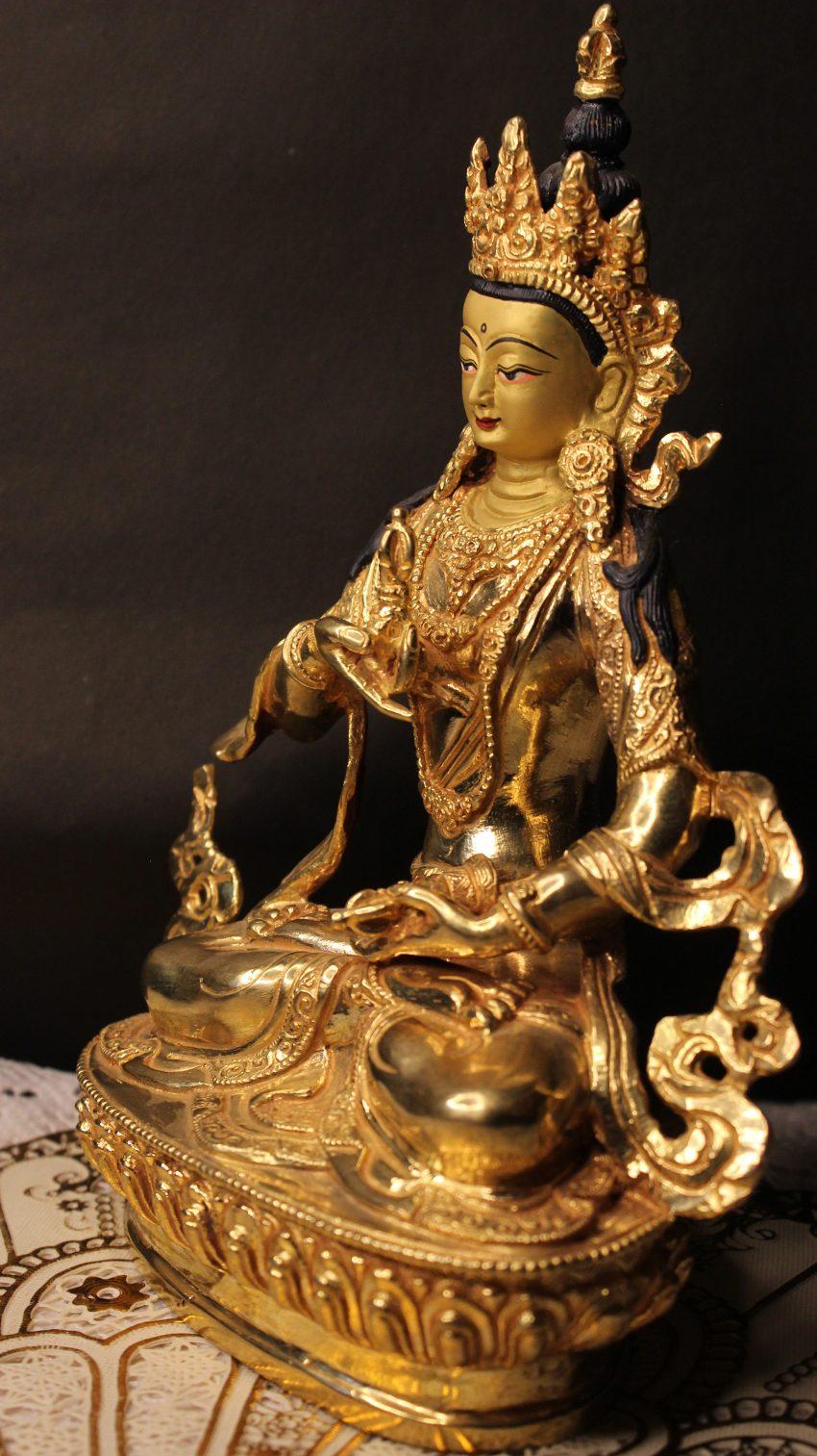 Golden Vajrasattva buddha Statue