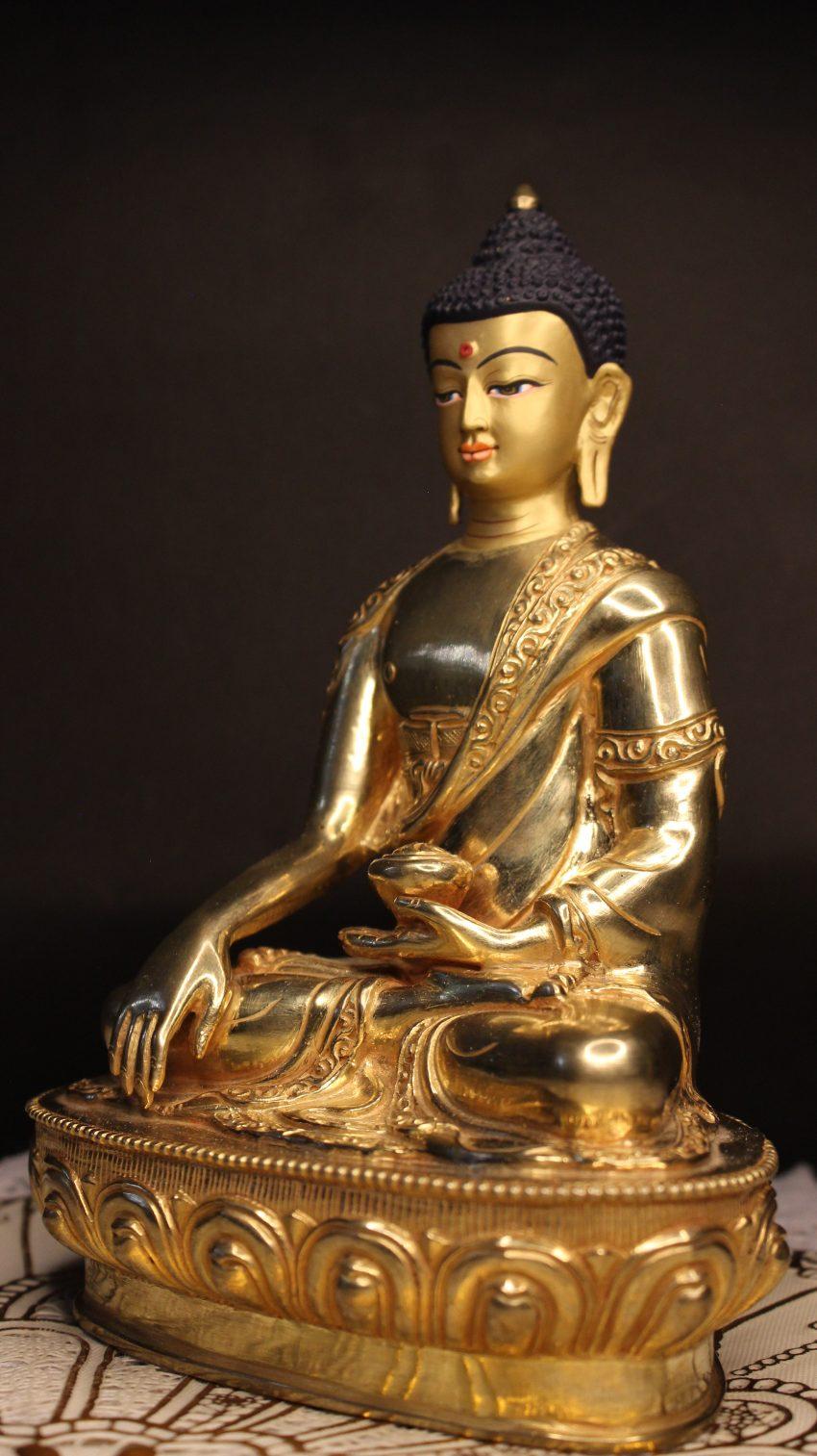 Shakyamuni Buddha Golden