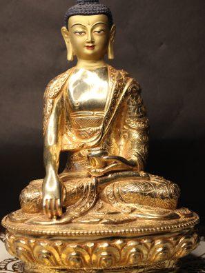 Shakyamuni Gold Statue
