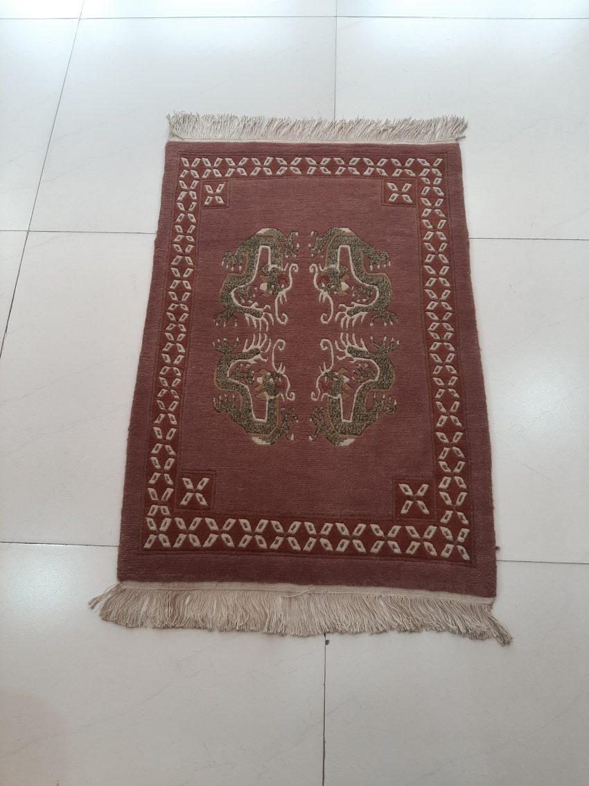 Tibetan dragon door mat