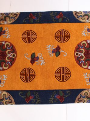 Tibetan Medallion Design Rugs