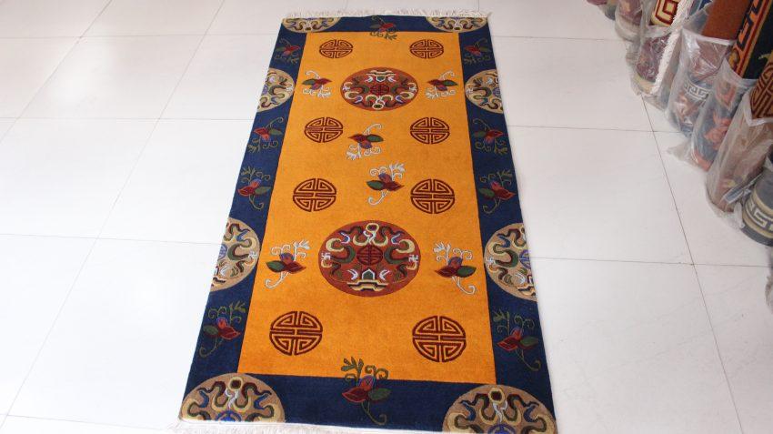 Tibetan Medallion Design Rugs
