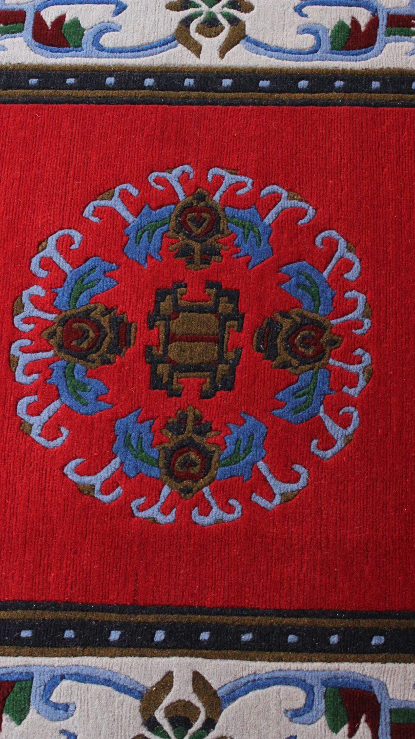 Unique Medallion Tibetan Rugs