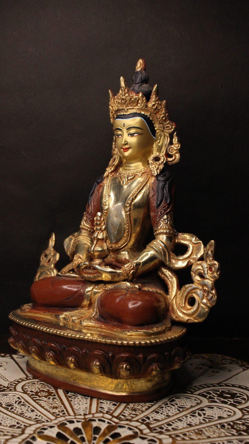Aparmita Golden Buddha Statue