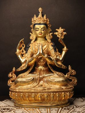Golden Changresi Statue