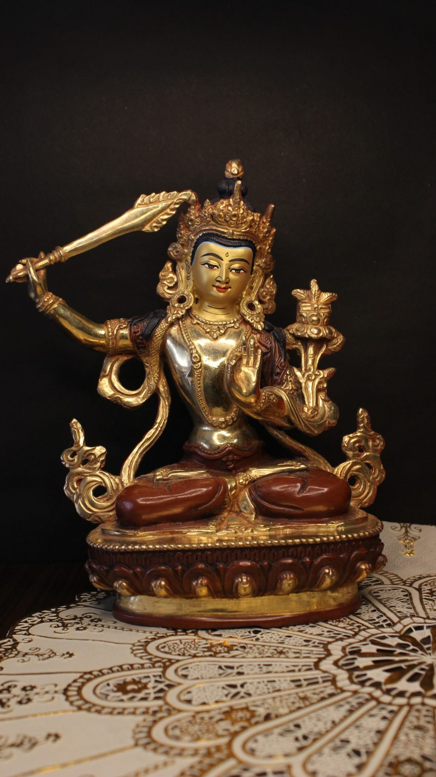 Golden Laxmi Statue