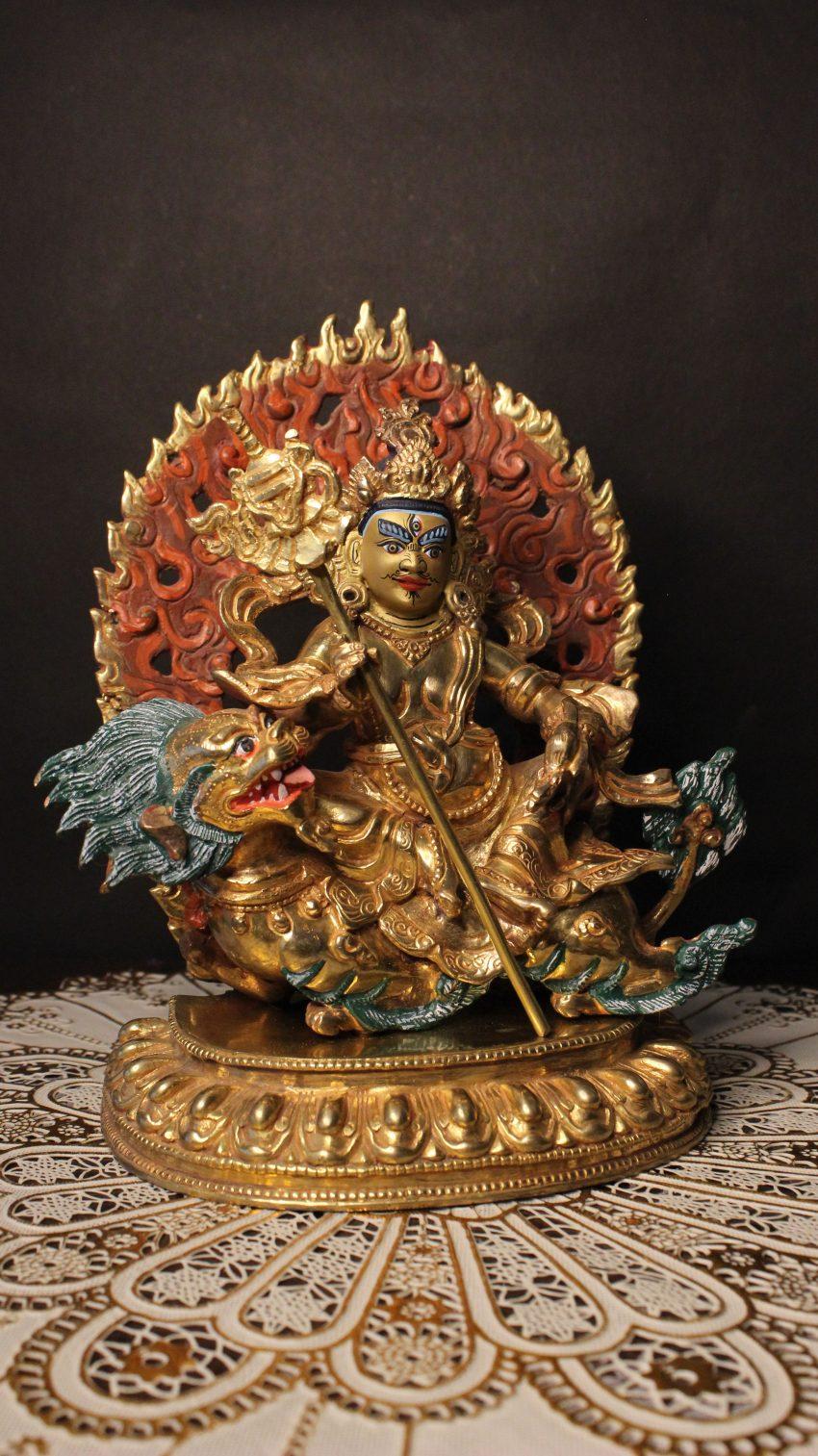 Kubher Golden Statue
