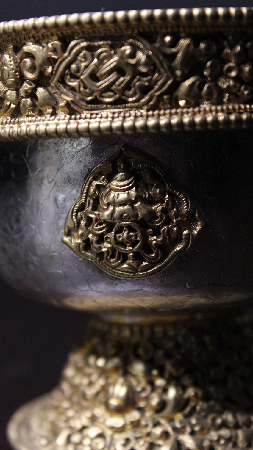 Unique Tibetan Water Bowls