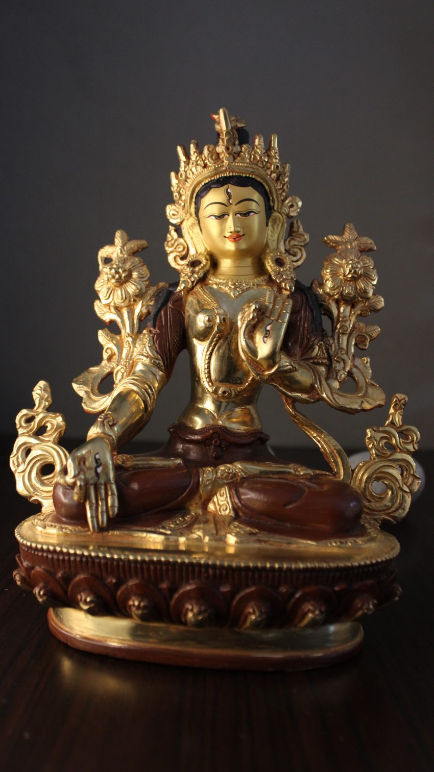White Tara Buddha Decor