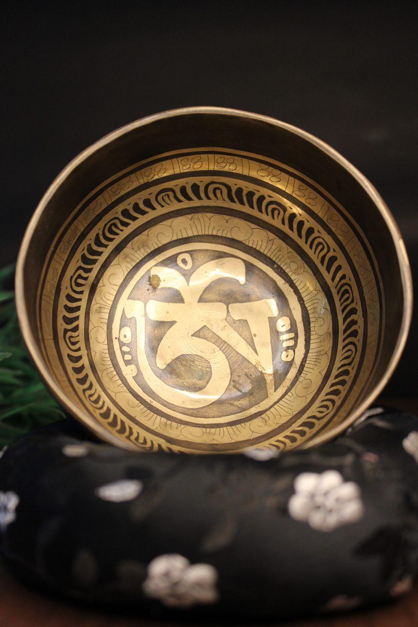 Tibetan Om Meditational Bowl