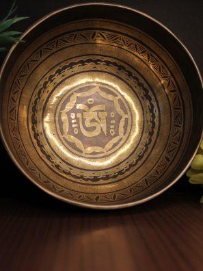 Tibetan Om Singing Bowl
