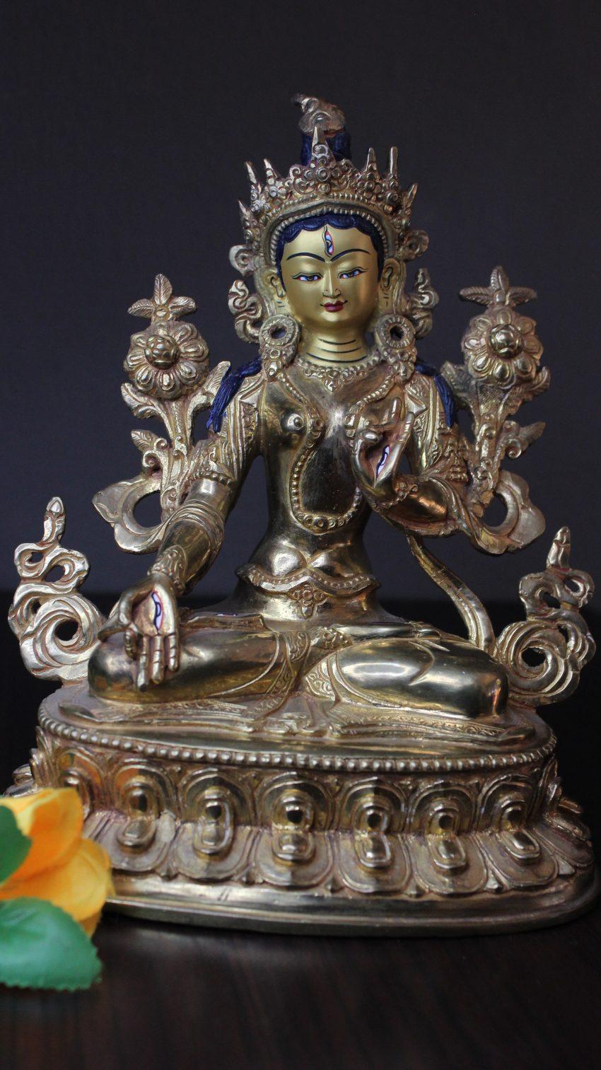 Gold White Tara Buddhist Gift