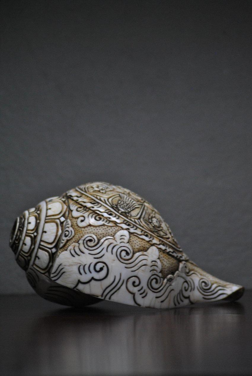 Ashtamangala Conch